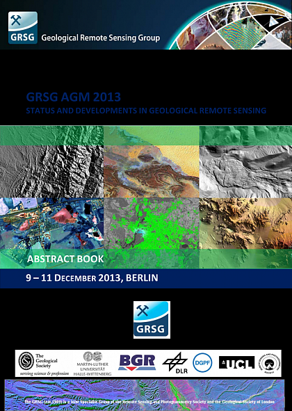GRSG AGM 2013 - Status and Developments in Geological Remote Sensing